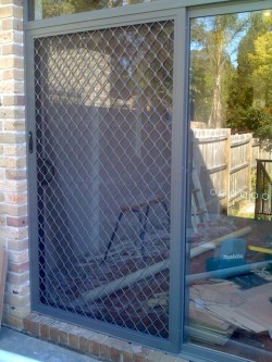Diamond Grille (Hinge, Sliding) Security Doors - Sun Blinds & Screens in Sydney