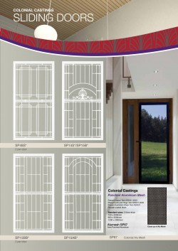 Art Design Grilled Doors Security Doors - Sun Blinds & Screens in Sydney