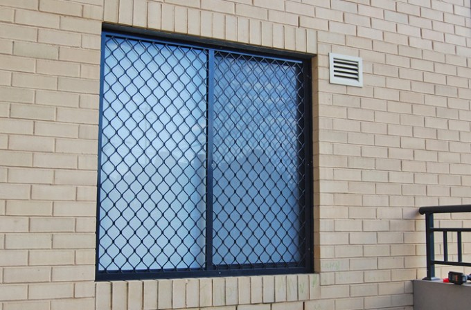 Window Grille (Diamond Grill) Security Doors - Sun Blinds & Screens in Sydney